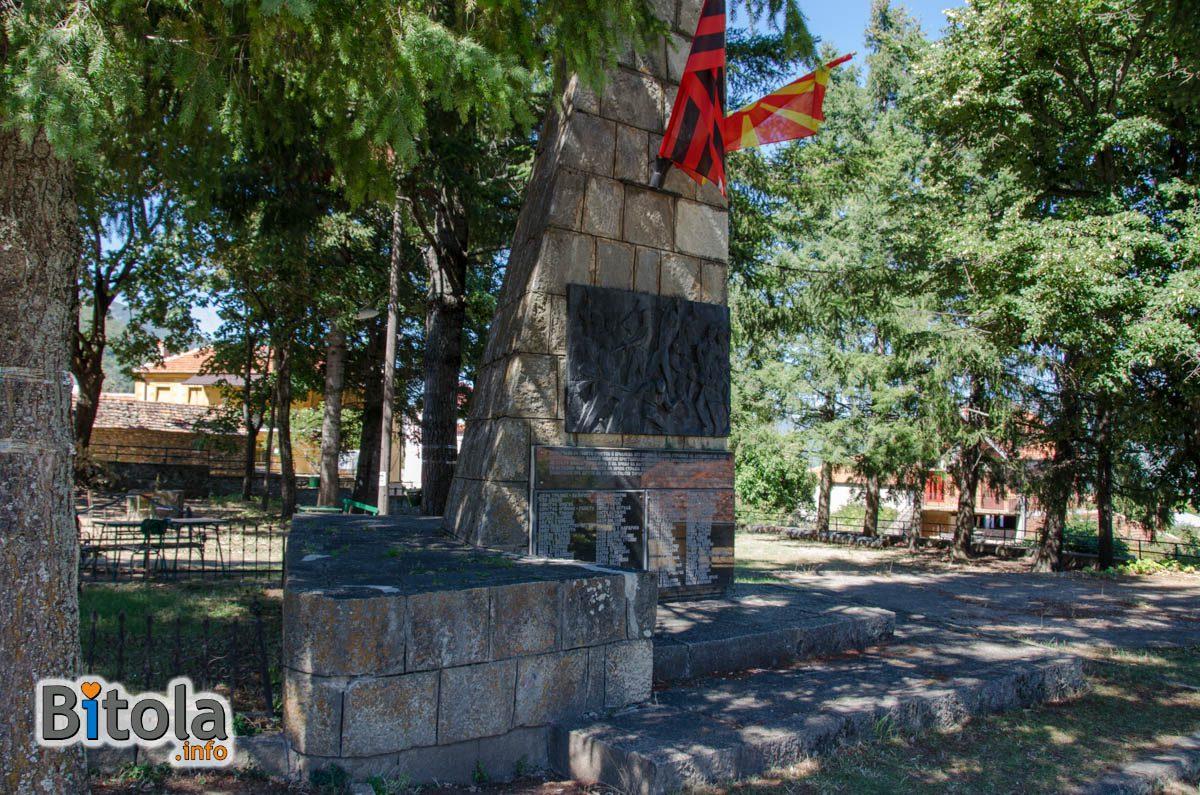 Read more about the article Споменик на паднатите борци од илинденскиот период и НОВ во с. Цапари