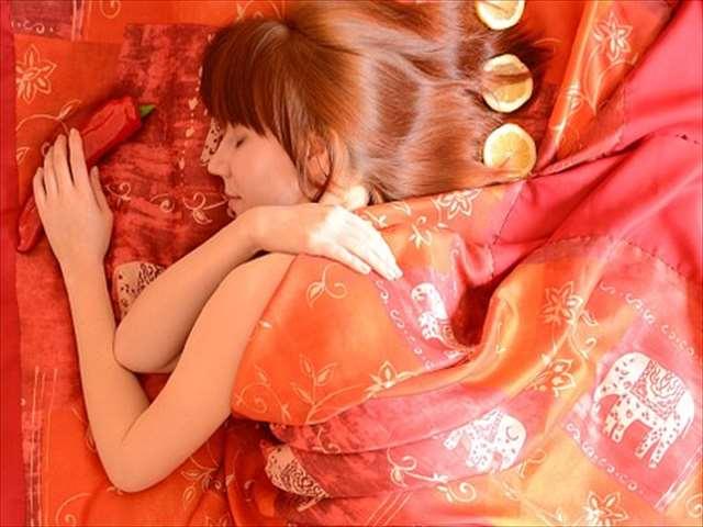 オレンジベッド