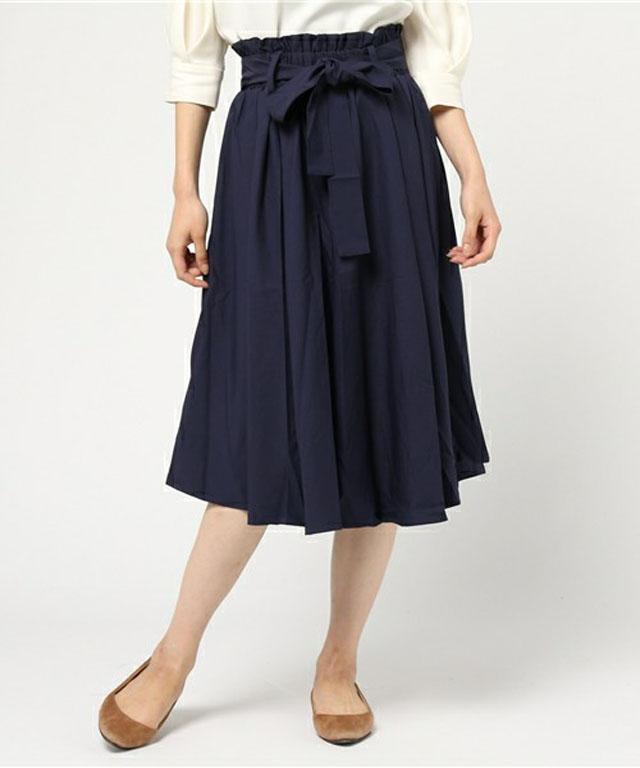 ウエーブギャザースカート