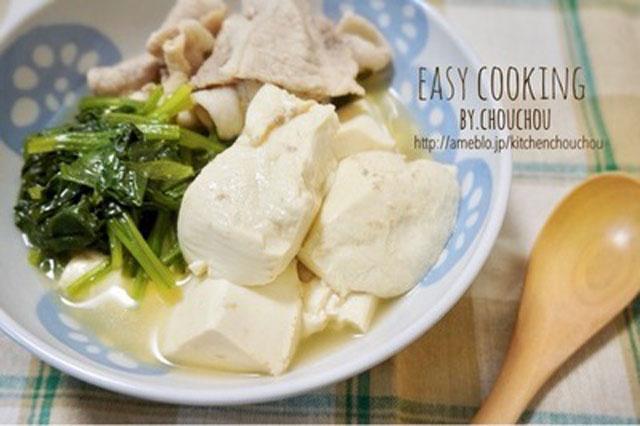 肉豆腐柚子胡椒風味