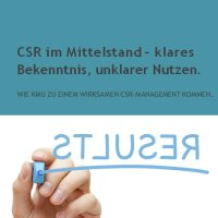 CSR im Mittelstand – klares Bekenntnis, unklarer Nutzen