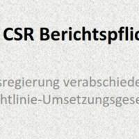 Bundesregierung verabschiedet CSR-Berichtspflicht