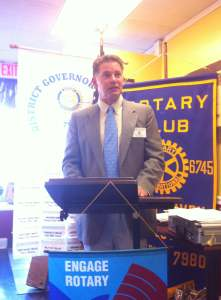 Mike Hallahan - Immediate Past President, North Haven Rotary Club
