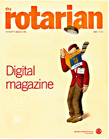 Make the switch to the Rotarian digital magazine