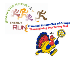 Two Turkey Trots on Thanksgiving