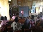 Classroom in Utange School
