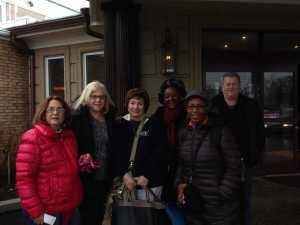 Joan Parris; Ronnie Katz; Florence Falkowski; Eugenia Chinsman, Dr. Cynthia Barnett; AG John Hendrickson