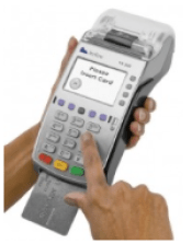 EMV-compliant merchant card reader