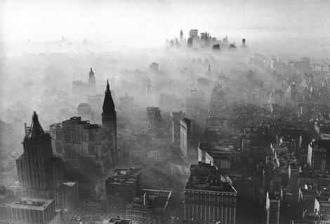 Killer Smog in Manhattan - Nov 24, 1966 - Photo by Andy Blair