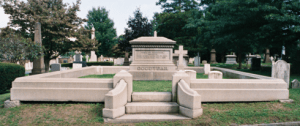Charles is buried in New Haven at Grove Street Cemetery.
