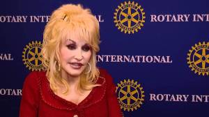 Dolly Parton is a Paul Harris Fellow and an Honorary Rotarian