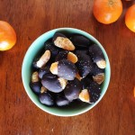 Dark Chocolate Salted Dipped Clementines