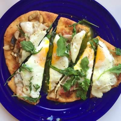 Breakfast Pizza: Two Ways
