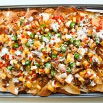 Korean BBQ Pulled Pork Nachos