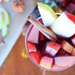 Cinnamon Apple + Pear Sangria