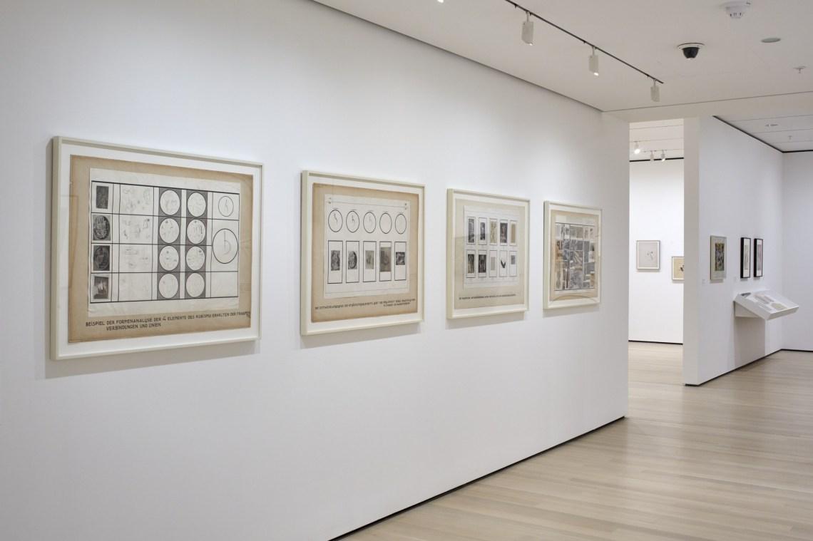 Exhibición en el MoMA, enero 2017