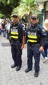 two policeman on duty in San Jose