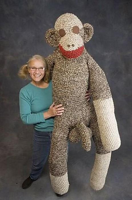 Stuffy-monkey