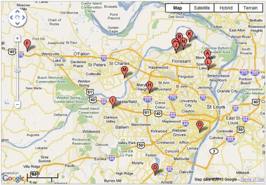 Batchgeo map