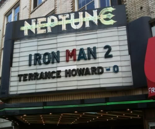 Iron man scores