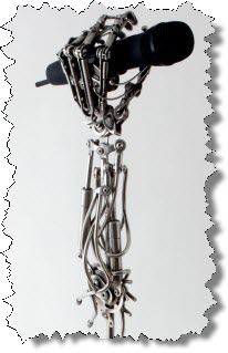 Mic hand stand