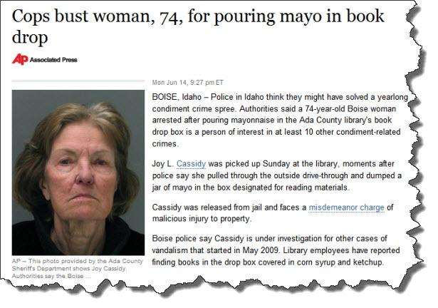 Mayo crime
