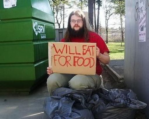 Will eat for food