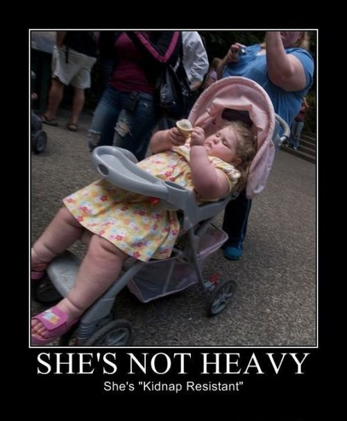 Shes not heavy