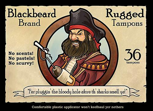 Blackbeard tampons