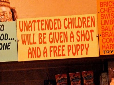 Shot and puppy