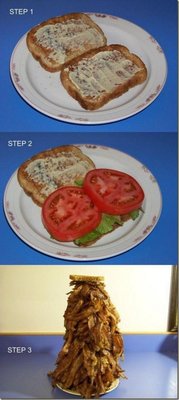 Blt how to