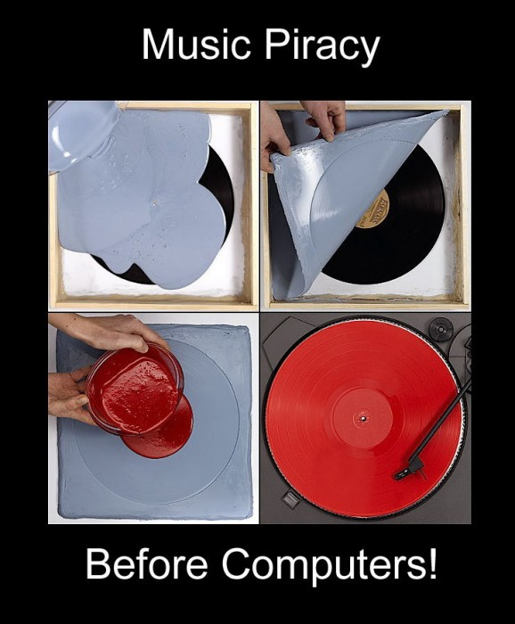 Music-piracy-before-computers