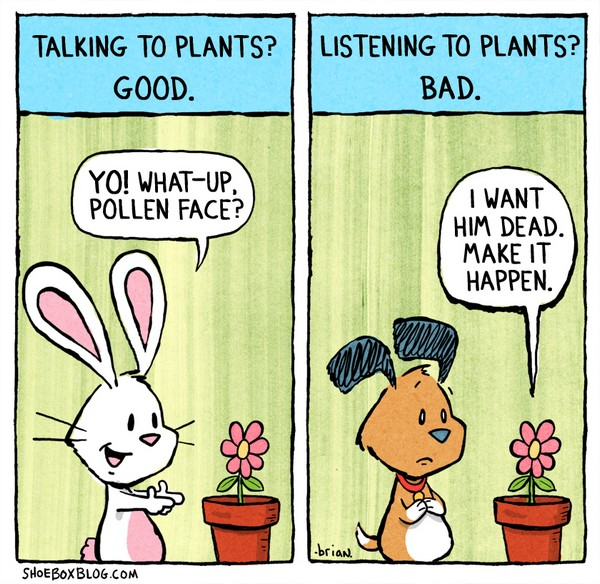 Listening-to-plants