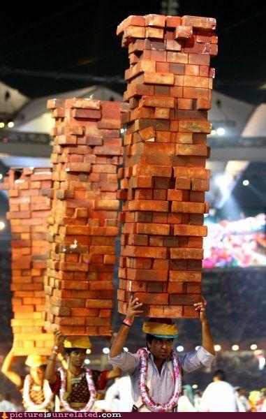 Brick Jenga