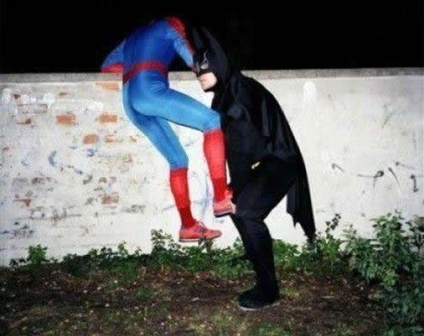 Superhero helper