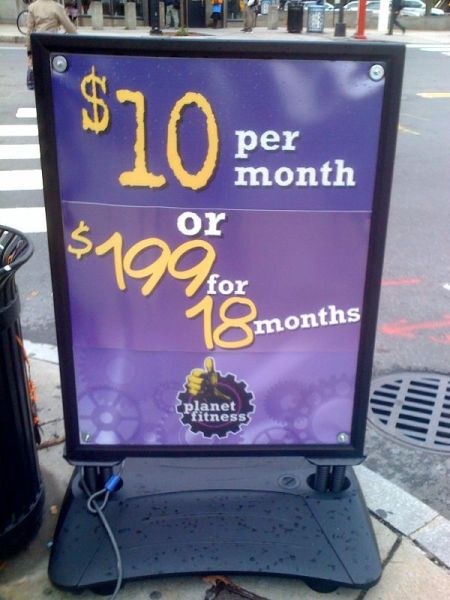 Paying month by month is better