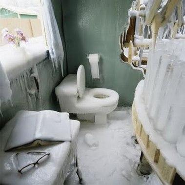 Cold-bathroom