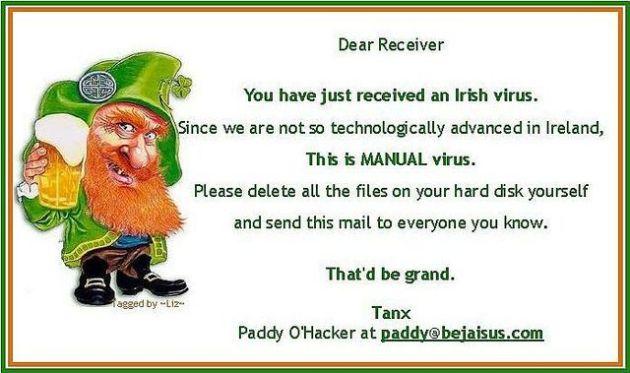 Irish virus