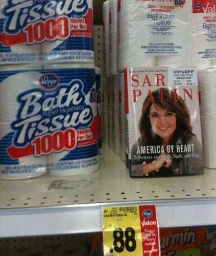 Palin book placement