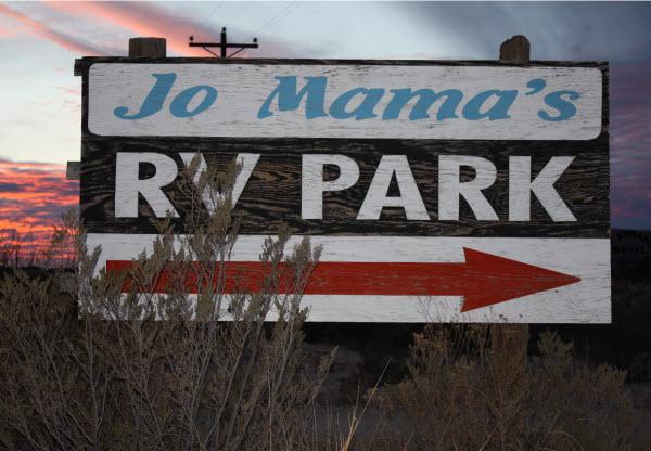 Jo Mamas RV park