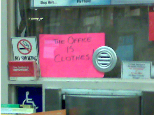 Clothes office