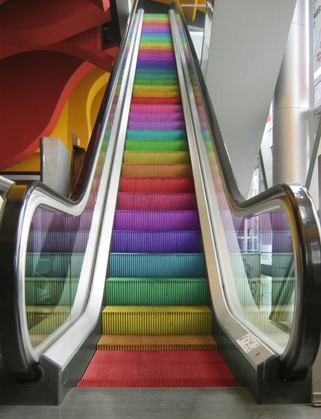 Gay escalator