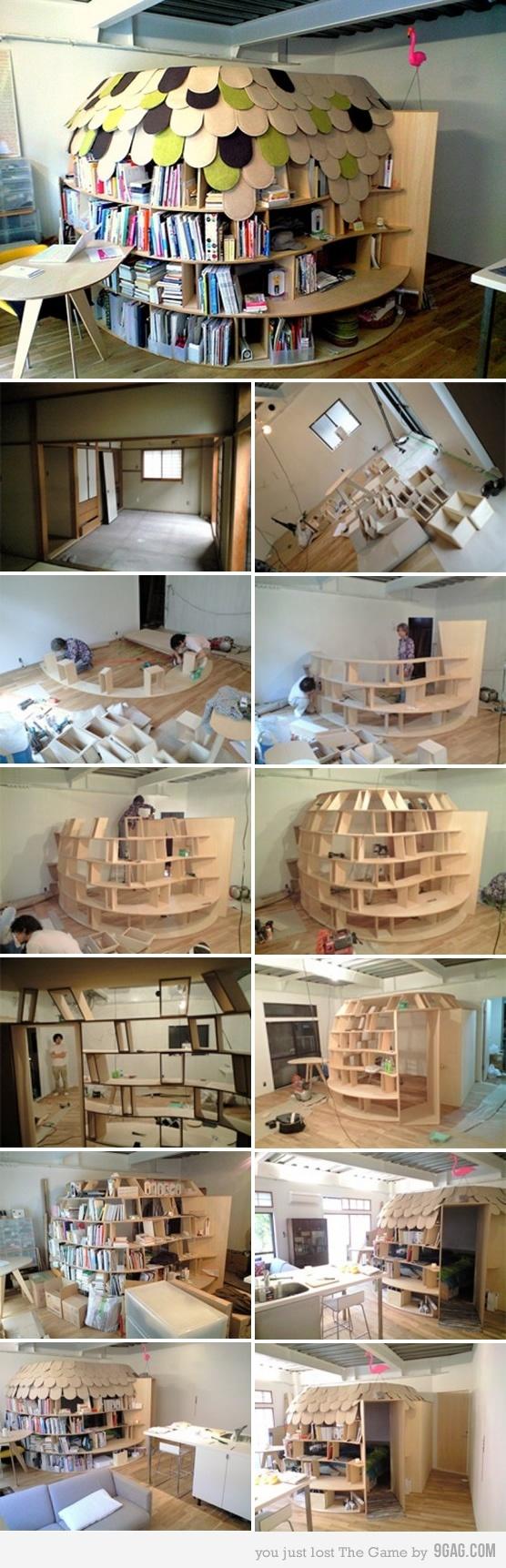 Bedroom igloo