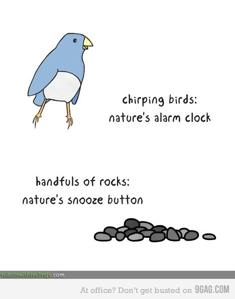 Natures snooze button