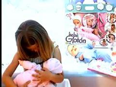 Breastfeeding doll
