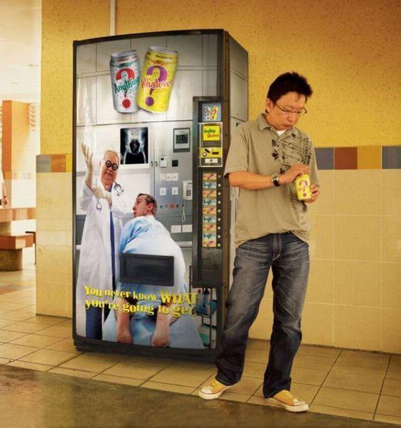 Surprise vending nmachine