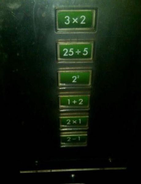 Elevator for mathematicians