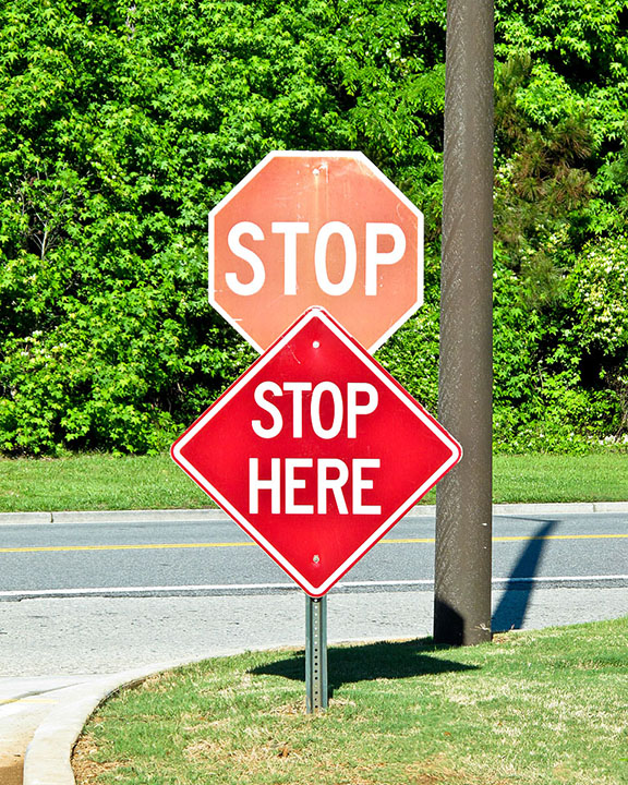 Stop signs 2