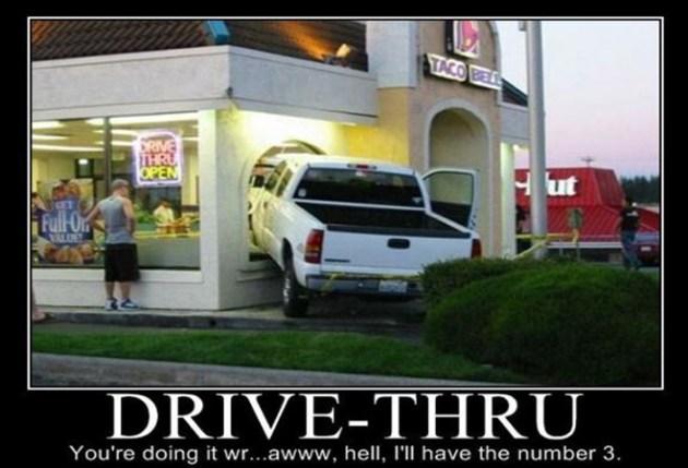Drive thru number 3