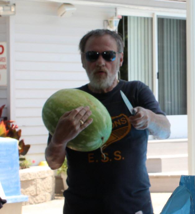 Dave melon knife